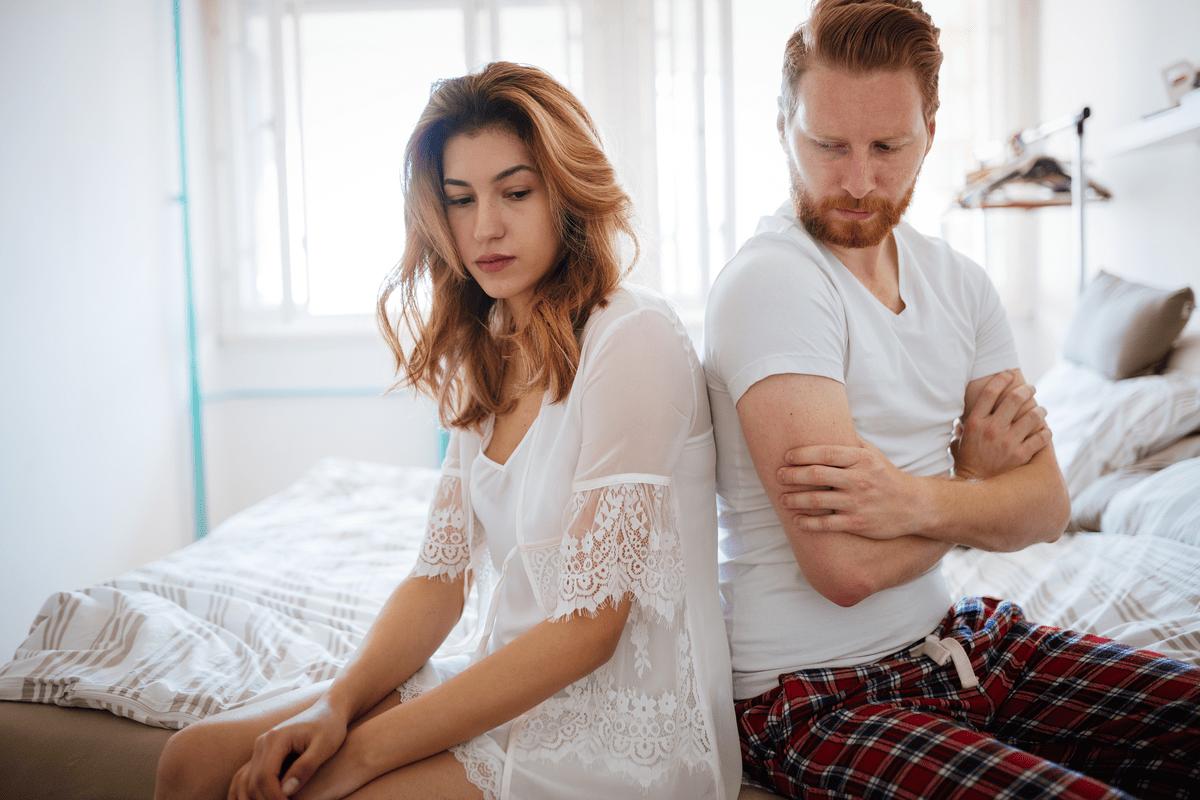 Жена с мужем поругались