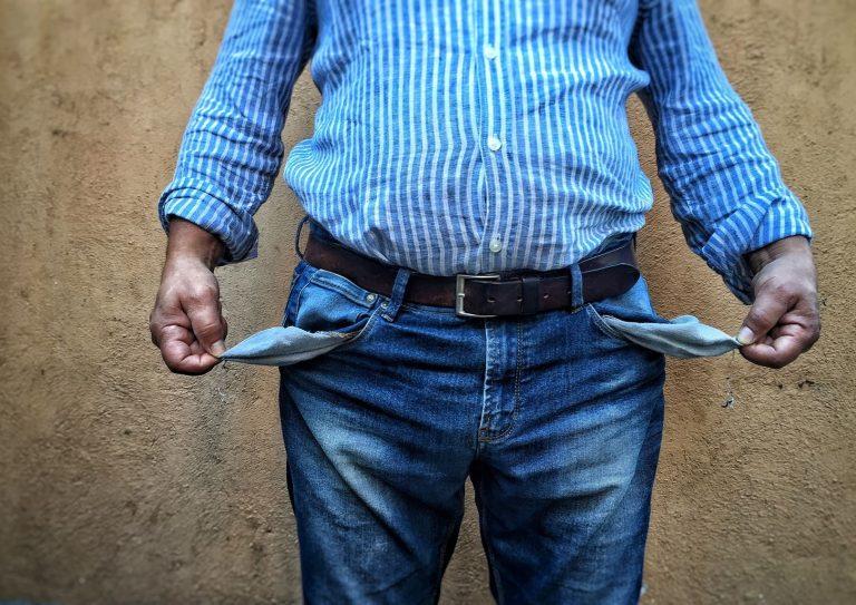 Мужчина без денег