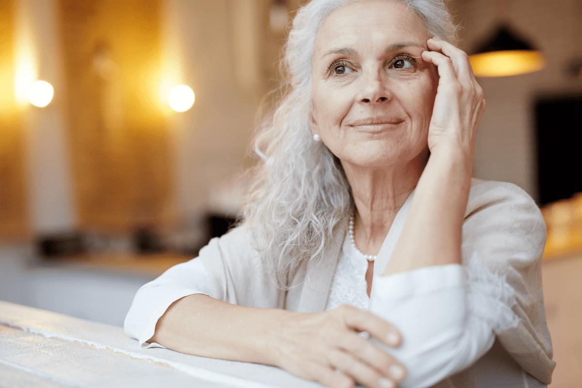 Женщина пенсионер