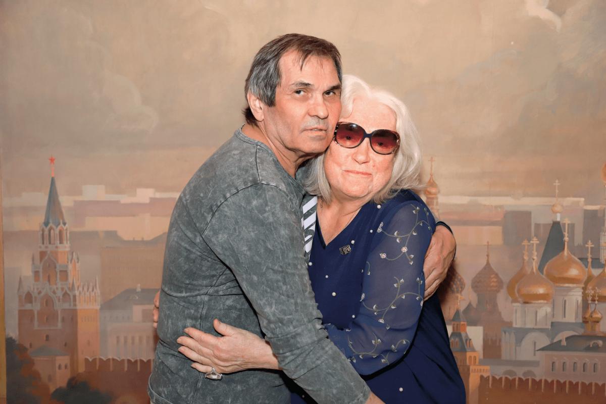 Алибасов и Лидия Шукшина